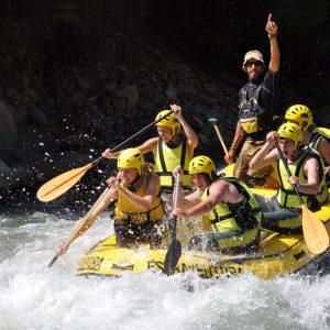 Rafting en el Ésera
